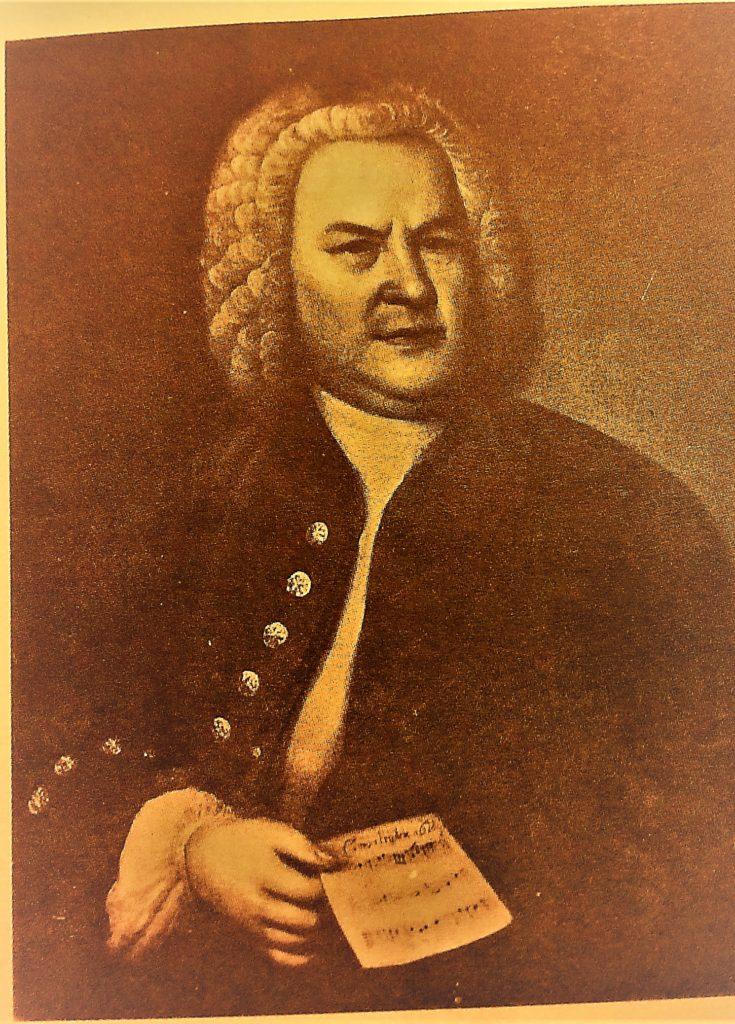 Afbeelding van J.S. Bach bij ulkeletabs, gitaartabs en mandolinetabs van Präludium die Tonleiter