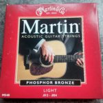 set martin phosphor bronze snaren