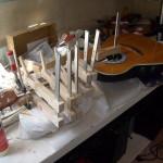 reparatie instrumenten: gebroken halspen vervangen.