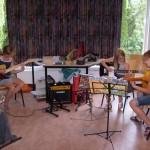 muziekles in een groepje