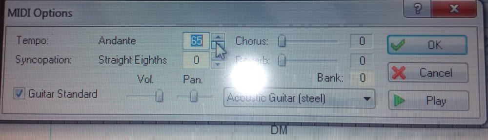 tabledit om bladmuziek te schrijven